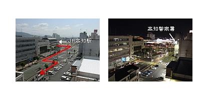 プチホテル高知マップ02